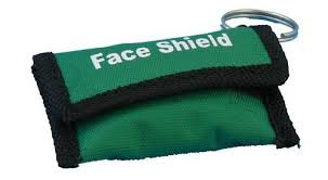 FAce shield keyring