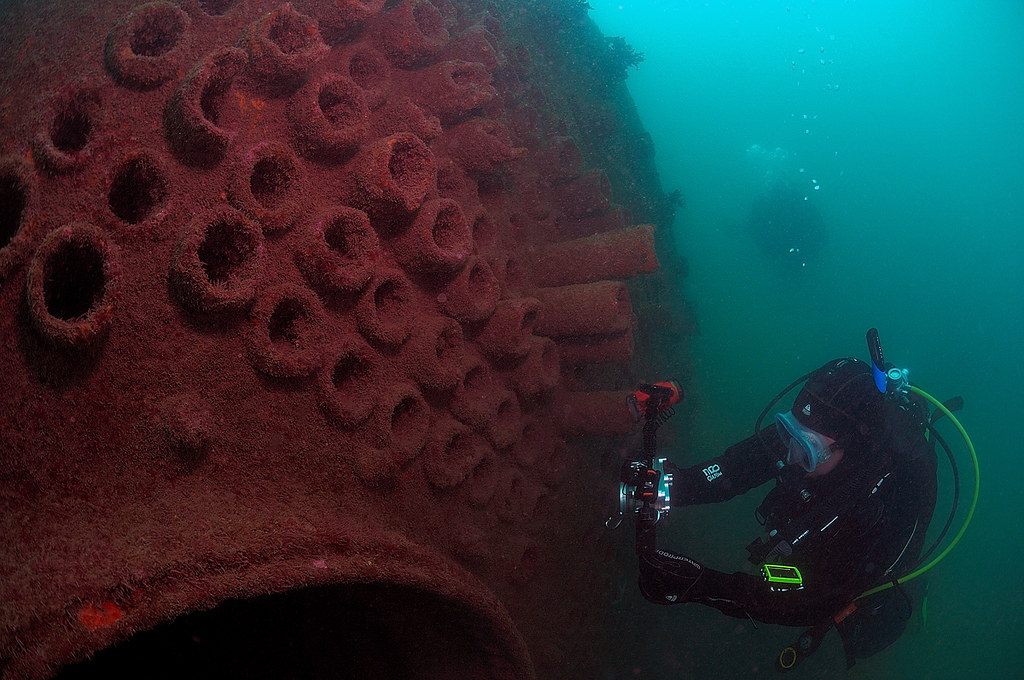 Become a Scuba Diver - Photography and Wrecks