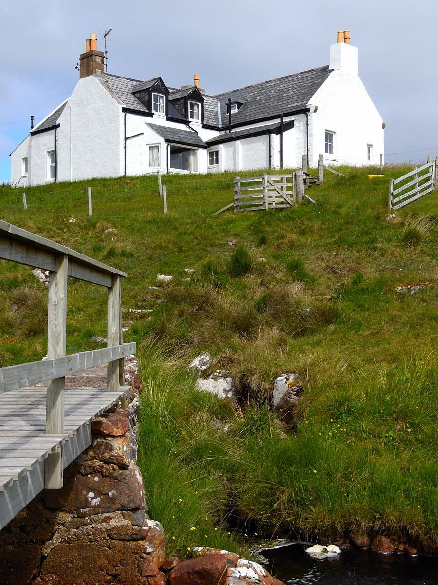 Scotland - Oldshoremore Lodge