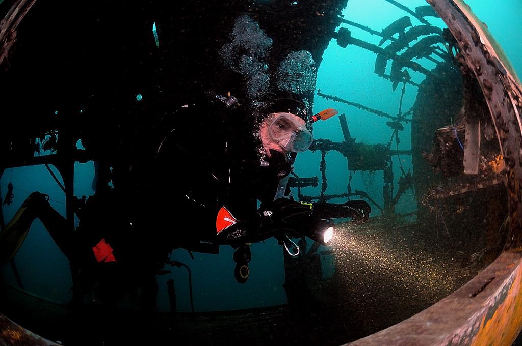 Advanced Open Water Diver: Wrecks